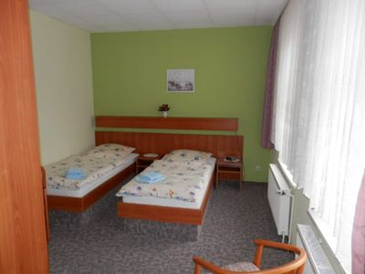 Photo for Double room 3 - Holiday apartment u. Room Goldschmidt