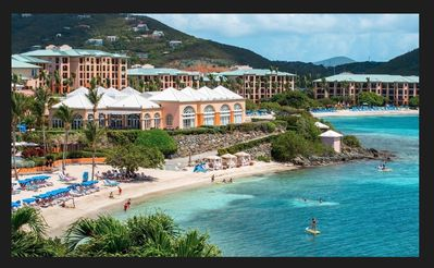 Ritz-Carlton property St. Thomas with Club in background