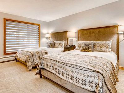Photo for Cozy Two Queen Bed Vail Lodge Room, Ski-in/Ski-out, Hot Tub, Pool