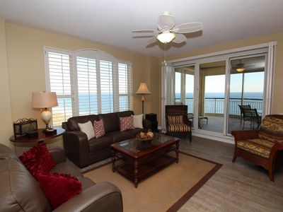 Photo for Beach Colony Tower 9A- Beach Front unit with large terrace & amazing views!