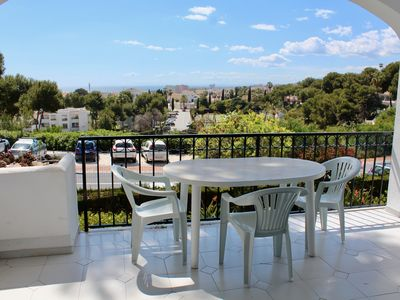 Photo for Apartment with Great Sea Views + 5-Minutes Walk from the Beach