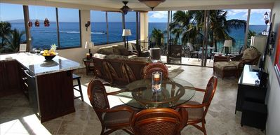 Photo for 30% off Last Minute Special May 8-18! Premium 2 Bdrm Breathtaking Ocean End Unit