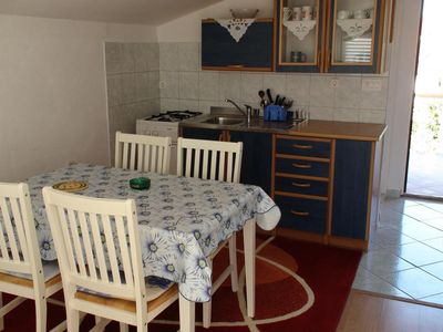 Photo for Two bedroom apartment with terrace and sea view Bibinje (Zadar)