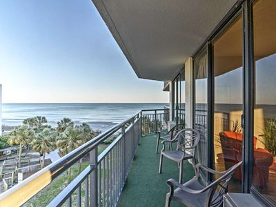 Photo for Beautiful Oceanfront Condo- NO CLEANING FEES