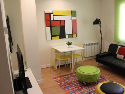 Photo for Bright and avant-garde apartment near the Museums with WIFI and A / C