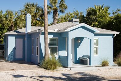 Vintage Charm with Modern Amenities in this totally remodeled 1948 bungalow.