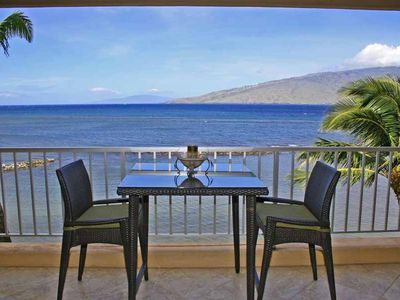 Photo for Oceanfront Condo w/AC- Spectacular Views  -Starts@$205/nt -Menehune Shores #412