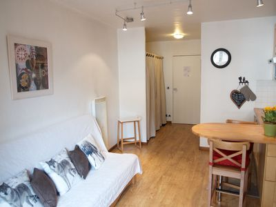 Photo for Very lovely studio, very bright, totally renovated in the heart of Chamoix