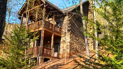 Photo for Wildflower Cabin 1-  Summer in the Mountains - Hot Tub - Pool Table - Luxury