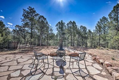 Find solace and become one with nature in Rowe, New Mexico.