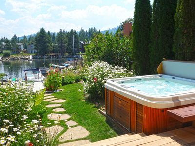 Photo for Tahoe Awesomeness Waterfront - Boat Dock - Hot Tub - Steam Shower