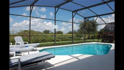 Photo for Autumn Dream Villa, Private Pool,10 Minutes to Disney, 5 Star Rated Property