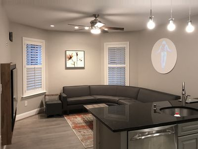 Photo for New Listing! Modern Condo - One Block From Metro