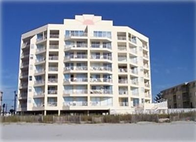 Photo for Hyperion Towers, Beautiful Oceanfront Condo, Clean, Large Private Balcony