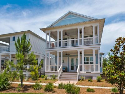 Photo for Perfect Family Beach Vacation House. Next to Seaside & Watercolor. 4 Free Bikes