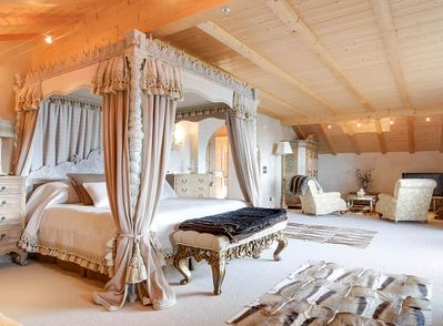Master bedroom and top floor, en suit, with large private balcony amazing views