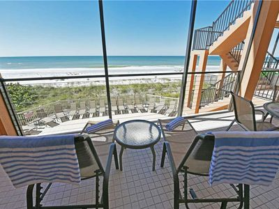 Photo for Gorgeous Beach front Condo!! Reserve Today and Save Big This September!!