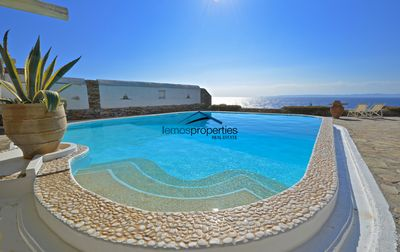 Photo for Water front villa with a swimming pool and a fantastic sea view