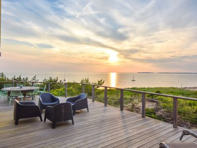 Photo for #436: Gorgeous architectural waterfront property, wrap around deck with stunning views!