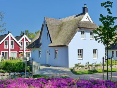 Photo for Thatched Cottage by the dune forest - 350m from the sandy beach - modern - flexible booking