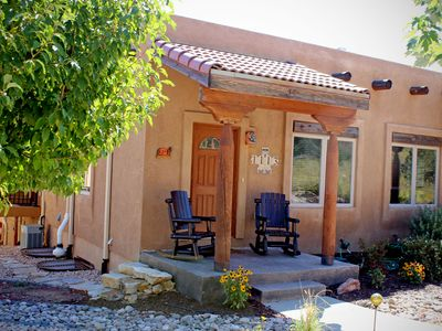 Photo for Counting Stars Adobe, beautiful private rooftop deck, May availability
