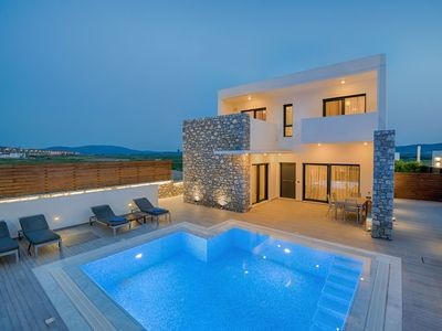 Photo for Super Luxury Rhodes Villa | Villa Romeo | Private Pool | Beautiful Views | 3 BDR | Kattavia