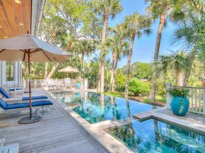 Photo for Fully RENOVATED, Short 4-min Walk To BEACH, Private Pool And Hot Tub