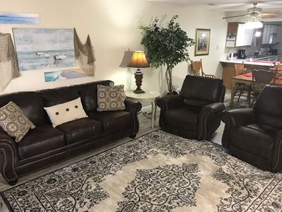 Photo for Rose's Spacious and Cozy Condo, 2 Pools, WIFI, Hot Tub, Sauna, ( Foothills D-4)