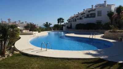 Photo for Detached house in Moraira with communal pool near the paya del Portet