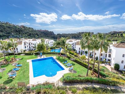 Photo for BEAUTIFUL SOUTH FACING 2 BEDROOM PENTHOUSE WITH POOL AND MOUNTAIN VIEWS