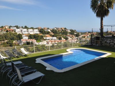 Photo for Designer house in Calafell with private pool, near the beach!