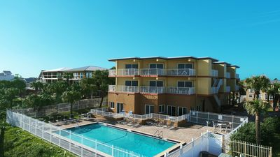 Photo for Light and Airy Oceanfront Condo (2 Bedrooms).  Amazing View!  Oversized Balcony!