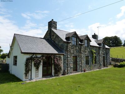 Photo for Built in traditional Welsh stone and slate, Berthlwyd offers spacious and comfortable accommodation