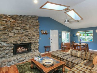 Photo for Charming Asheville riverfront cabin, 10 minutes from downtown!