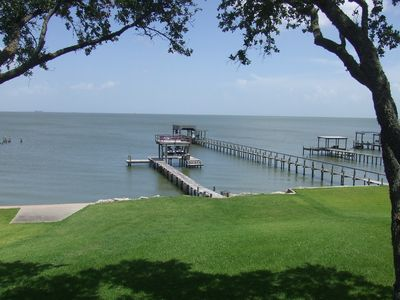 Photo for WATERFRONT on Galveston Bay with Private Pier