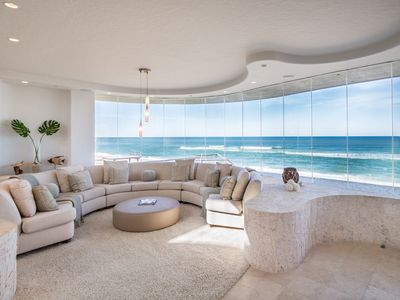 Photo for LUXURIOUS OCEANFRONT BEACH HOUSE  ON A PRIVATE BEACH