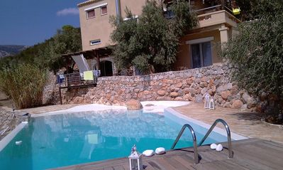 Photo for 2BR Apartment Vacation Rental in Aliki, Egeo