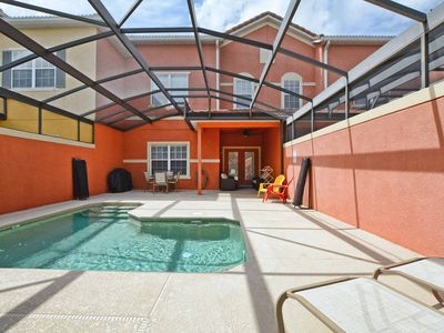 Photo for RESORT COMMUNITY, FREE WIFI, CLOSE TO CLUBHOUSE! VERY PRIVATE POOL!