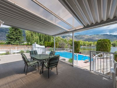 Photo for NEW Listing.  Beautiful  home in OSOYOOS on the water with pool and private dock