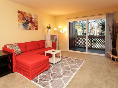 Photo for Cozy Clean 2br/2ba Condo for business travel near Santana Row in San Jose