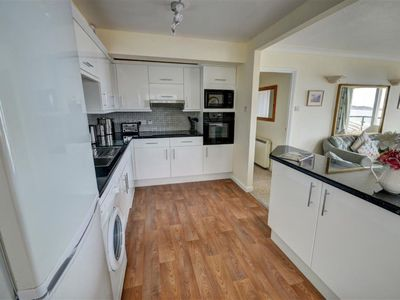 Photo for Lovely apartment for 4 people with pool, WIFI, TV and parking