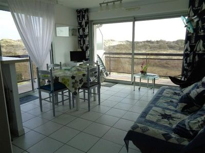Photo for APARTMENT ON THE 1st FLOOR WITH FACE DUNES SOUTH FACING CLEAR VIEW