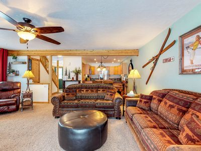 Photo for NEW LISTING! Charming alpine condo close to hiking, skiing, and Payette Lake!
