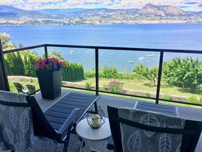 Relax on your private deck with breathtaking views.