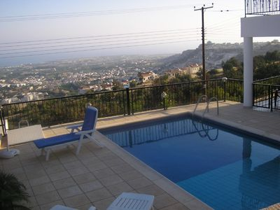Photo for Coral Bay, Peyia luxury detached 2 bedroom villa pia with private pool