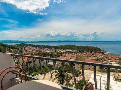 Photo for With great panoramic view to town Makarska,sea, and islands!