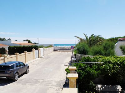 Photo for Villa behind the dunes of Torre Lapillo, 30 meters from the beach