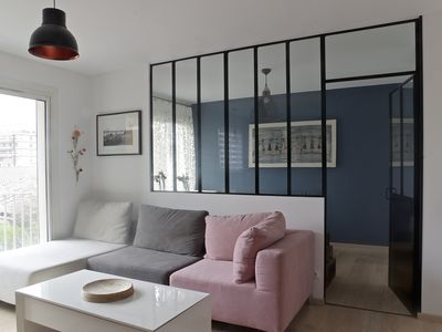 Photo for Beautiful furnished 1 bedroom apartment with terrace
