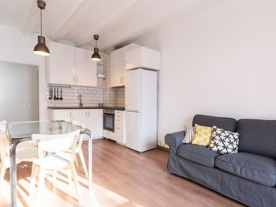 Photo for Comfortable apartment for long-term rentals in the city centre for 4