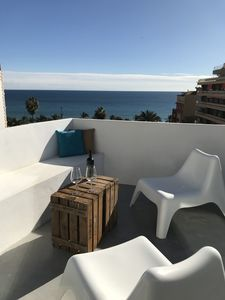 Photo for Exclusive Penthouse with private terrace and spectacular sea views